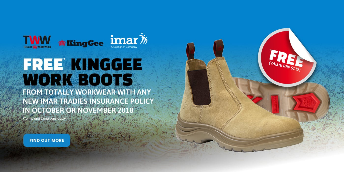 Free KingGee Work Boots